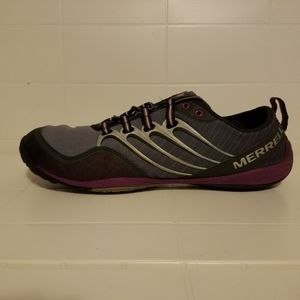 Merrell Lithe Glove Dark Shadow Athletic Shoes